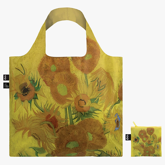 LOQI Vincent van Gogh Sunflowers Recycled Bag, 1889