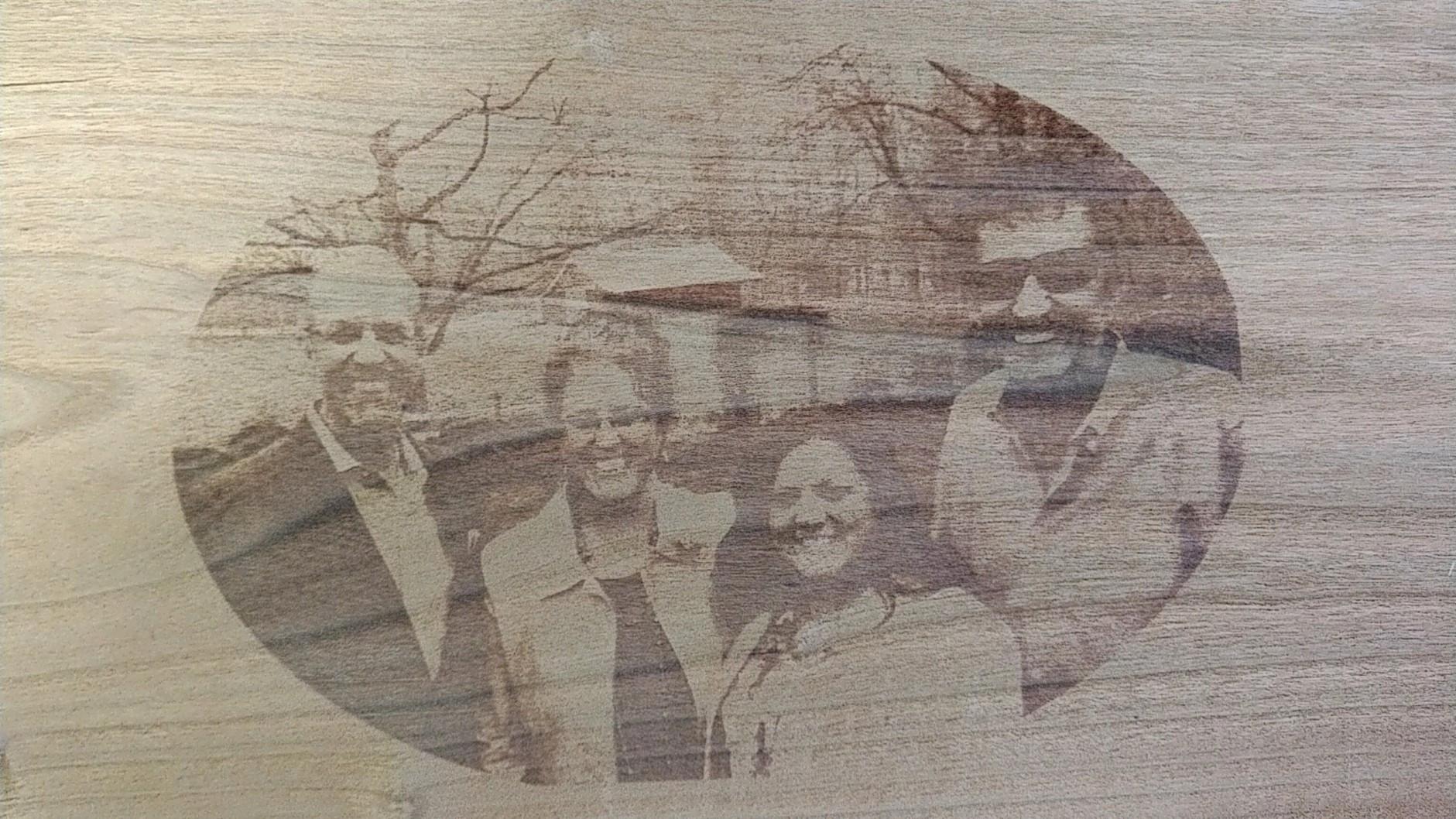 Richard's family portrait.