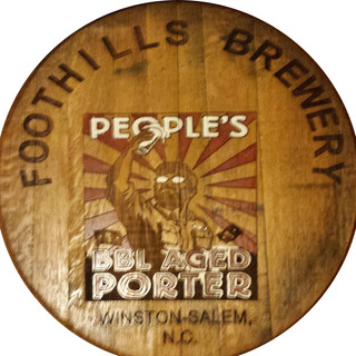 PEOPLES PORTER BARREL ART