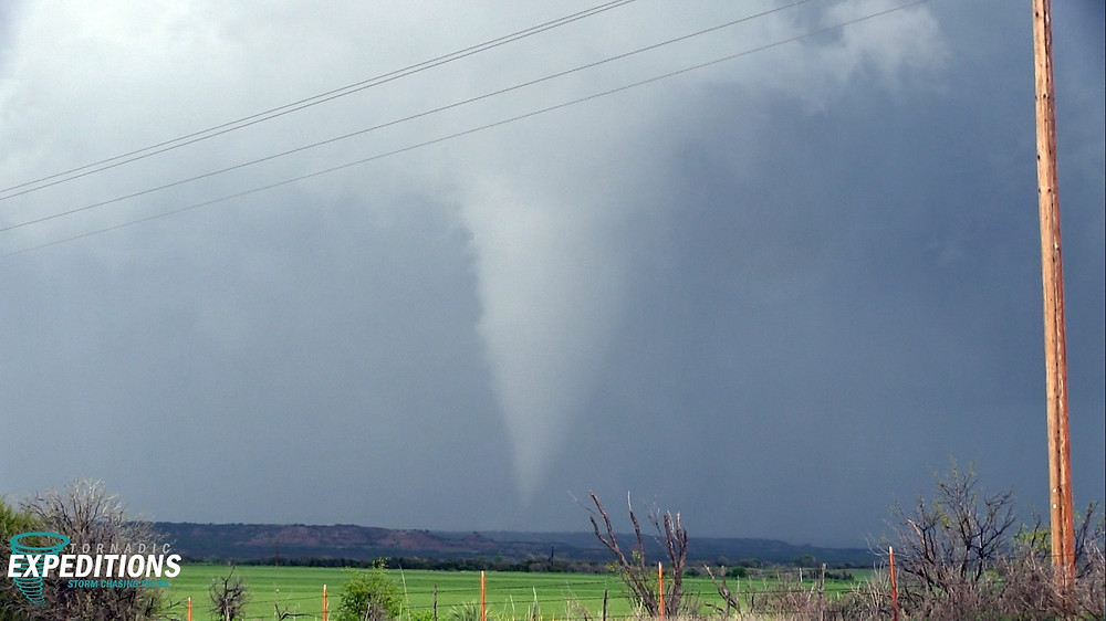 cone tornado texas
