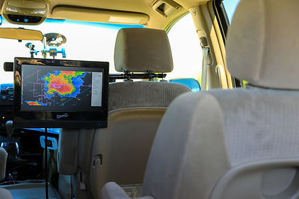 interior storm chase vehicle