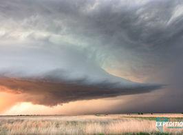 Littlefield Texas Sunset Supercell WW OP