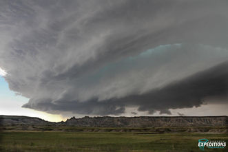 Badlands Supercell Storm