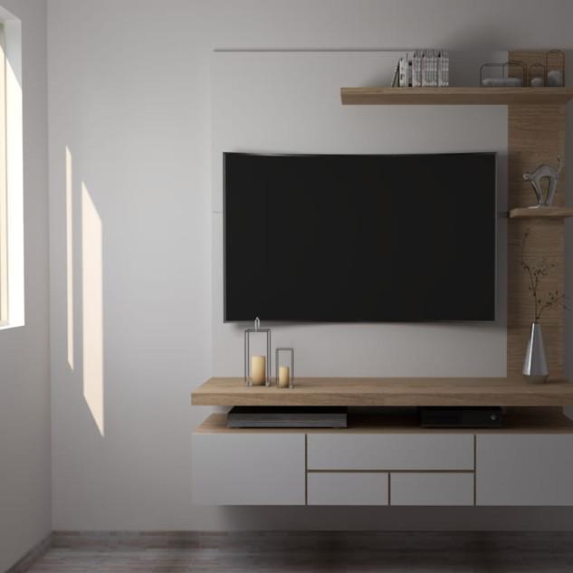 Mueble de entrenimiento