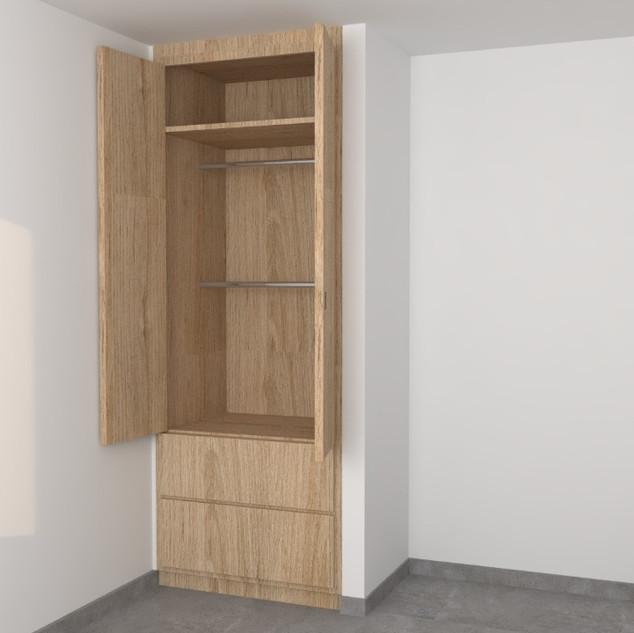Closet pequeño