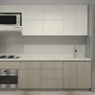 Cocina apartamento nuevo