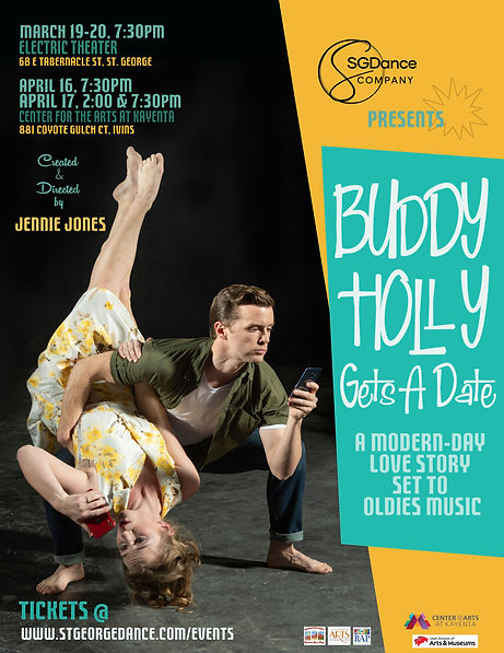 Buddy Holly Dance Poster with no prices