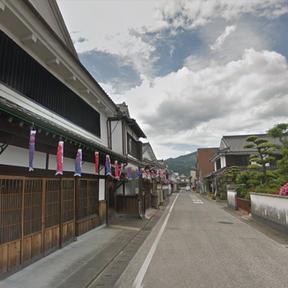 吉井町白壁通り