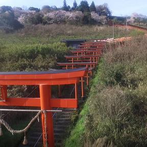 インスタ映えスポットでも有名な『浮羽稲荷神社』