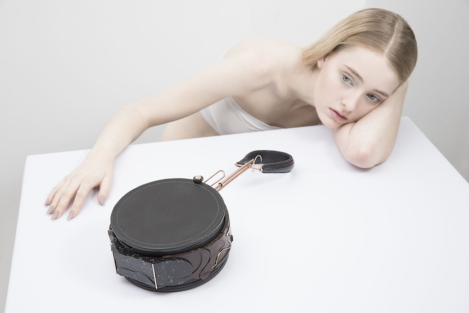 The Heave . Leather Bag