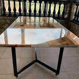 tavoli in resina lugano - Ticino