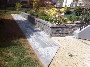 servizio giardiniere posa pavimentazioni in pietra Lugano