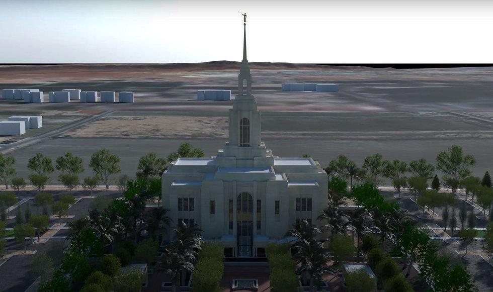 Red Cliffs Utah Temple (Official website