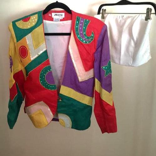 JSong Collection Saco-Top Lino