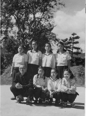Akiko at Jogakuin College