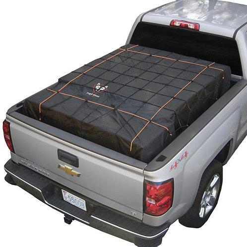 Truck Bed Cargo Net with build in Tarp