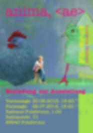 Plakat Vernissage