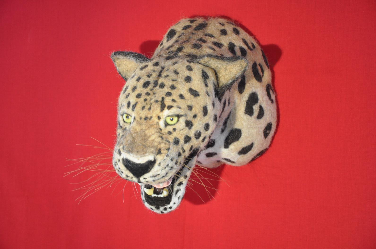 Gepard. inkl. Zunge, Zähne, Schnurrhaare. Miau.