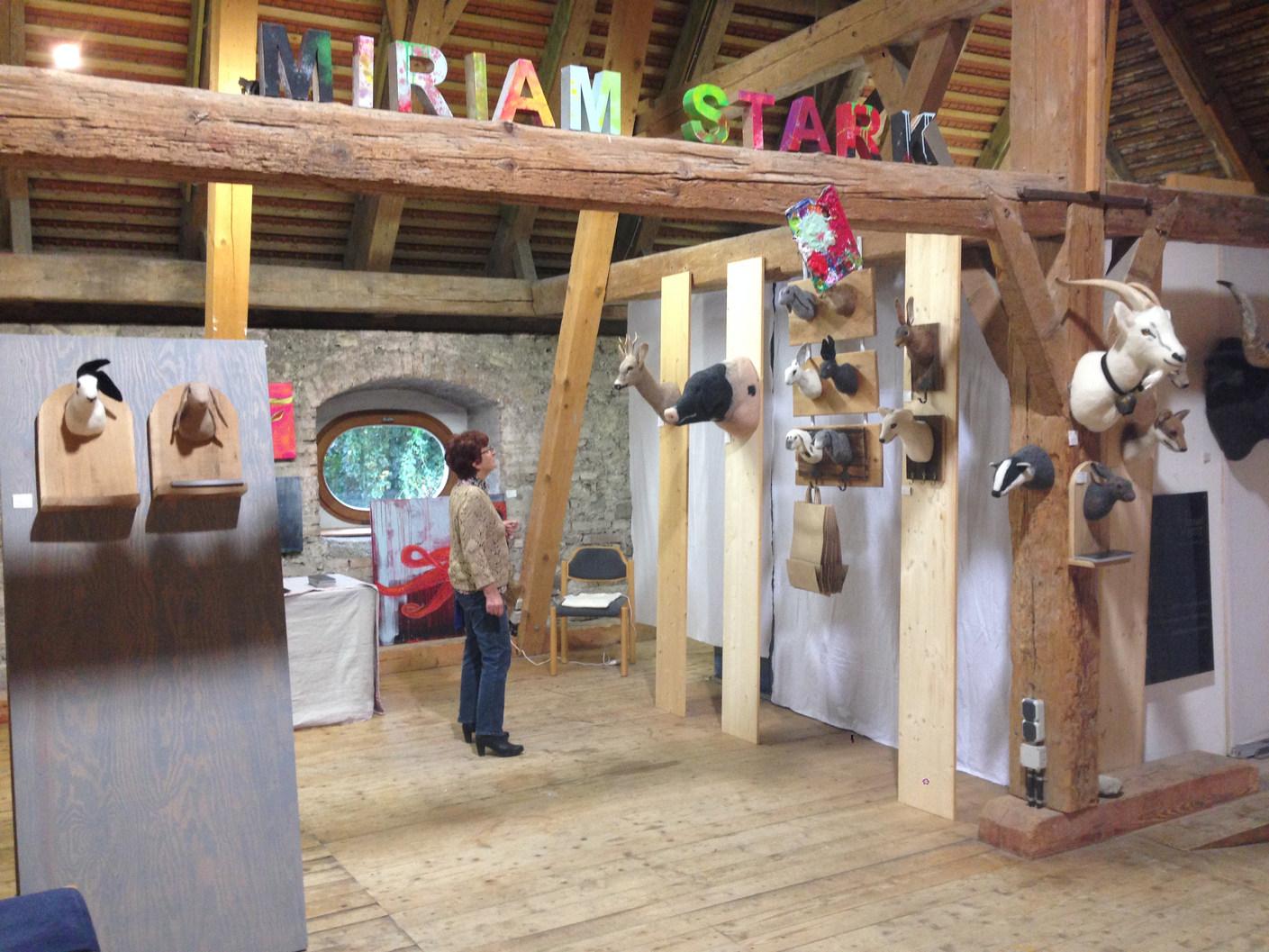 Ausstellung Stand Kloster Benediktbeuern