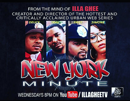 New York Minute promo cover web series