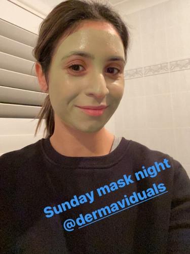 At home Individual mask