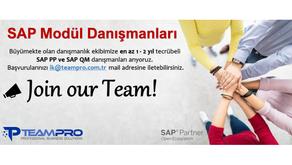 SAP Modül Danışmanları