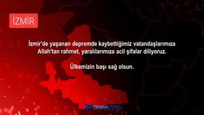 Geçmiş Olsun İzmir... Tüm dualarımız ve kalbimiz seninle...