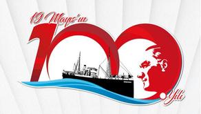 19 Mayıs 100. Yıl - Atatürk'ü Anma ve Gençlik Spor Bayramı Kutlu Olsun.