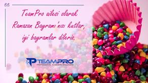 TeamPro Ailesi Olarak İyi Bayramlar Dileriz.