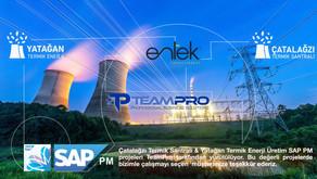 Çatalağzı Termik Santrali & Yatağan Termik Enerji Üretim | SAP PM Projelerimiz başlıyor.