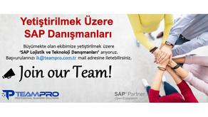 Yetiştirilmek Üzere SAP Danışmanları
