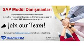 SAP SD Modül Danışmanları