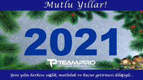 Yeni yılın herkese sağlık, mutluluk ve huzur getirmesi dileğiyle…