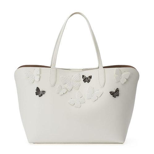 Mondani Kimona Butterfly Applique Double Shoulder Bag