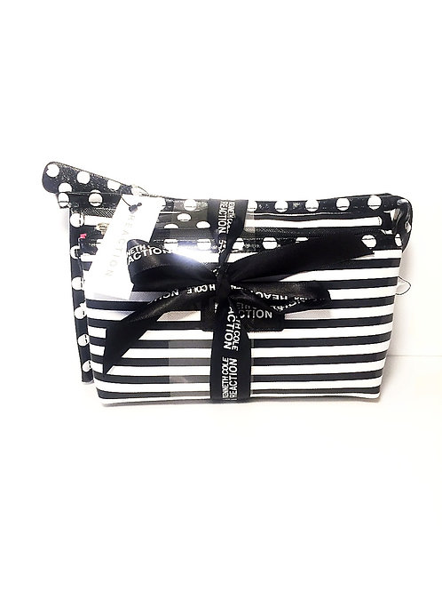 Kenneth Cole Reaction East/West two piece cosmetic bag set