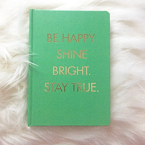 Hard Cover Journal with Gold Foil Lettering