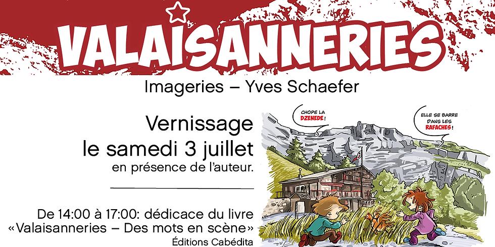 "Exposition ""Valaisanneries""  à Derborence - Valais"
