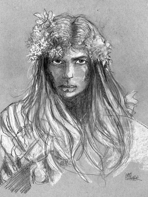 Séfrine et les Fleurs Blanches