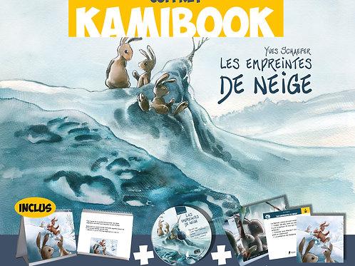 Coffret Kamibook Les Empreintes de Neige