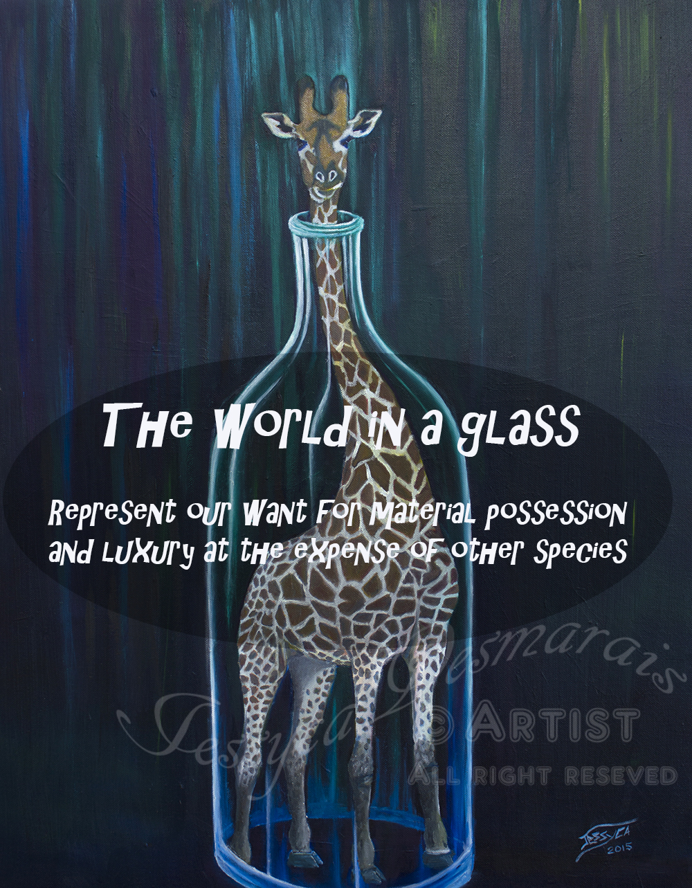 World in a glass collection
