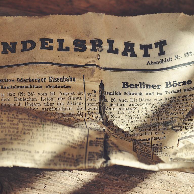 German Conversation - May 13 and 27