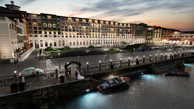 3d Marriott hotel  visualization