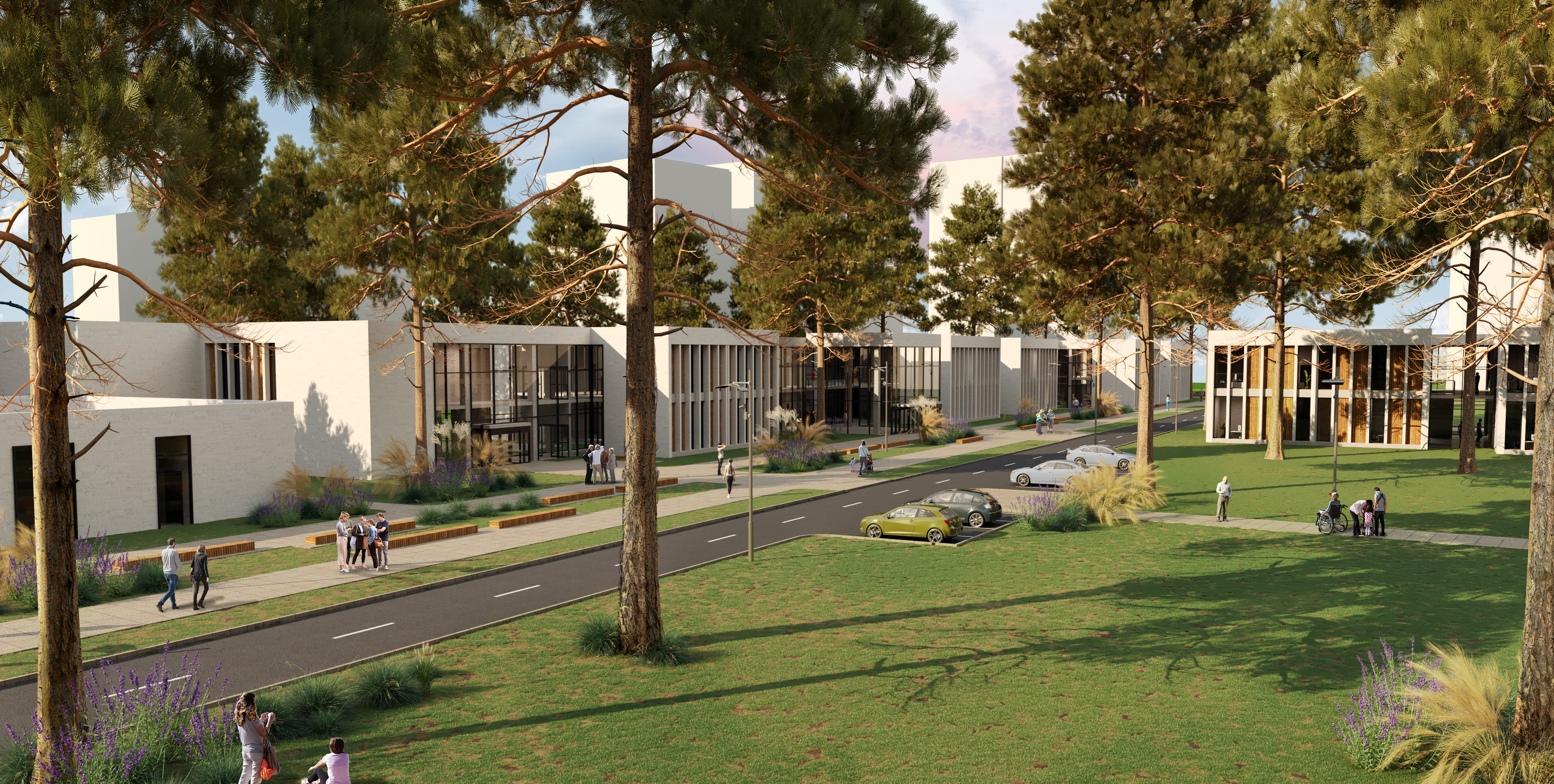 We provide 3d architectural visualization services in UK, 3d Exterior visualization in London