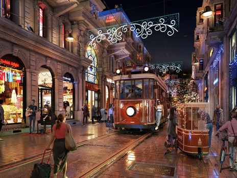 A Day in the City From İstiklal Avenue / İstanbul