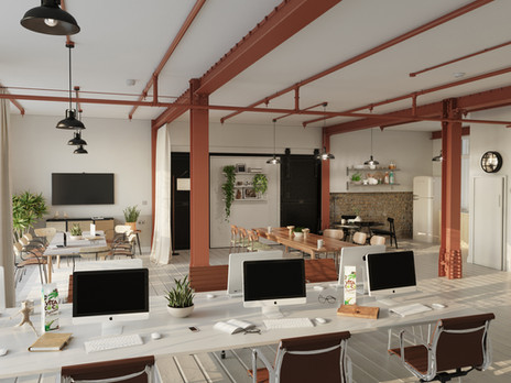 Latest Workplace projects` 3d visualizations