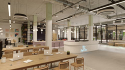 """We have done the """" Vallance road   """"  workplace 3d visualization project in London."""