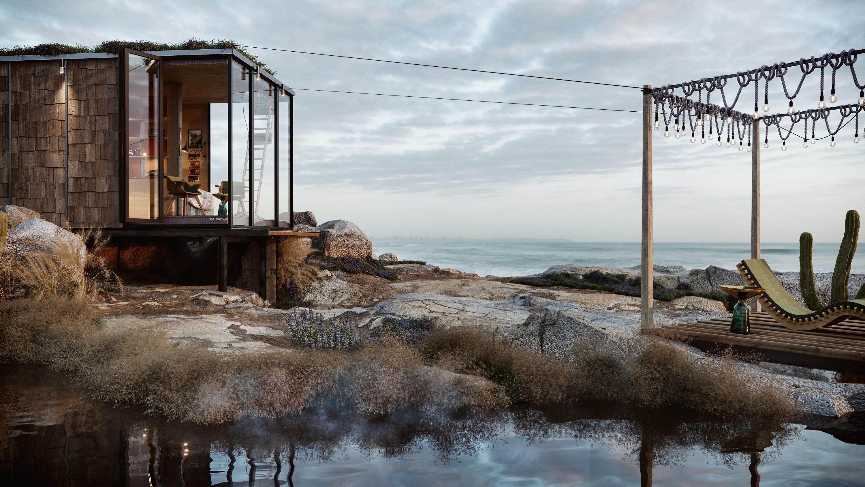 Cabin rendering