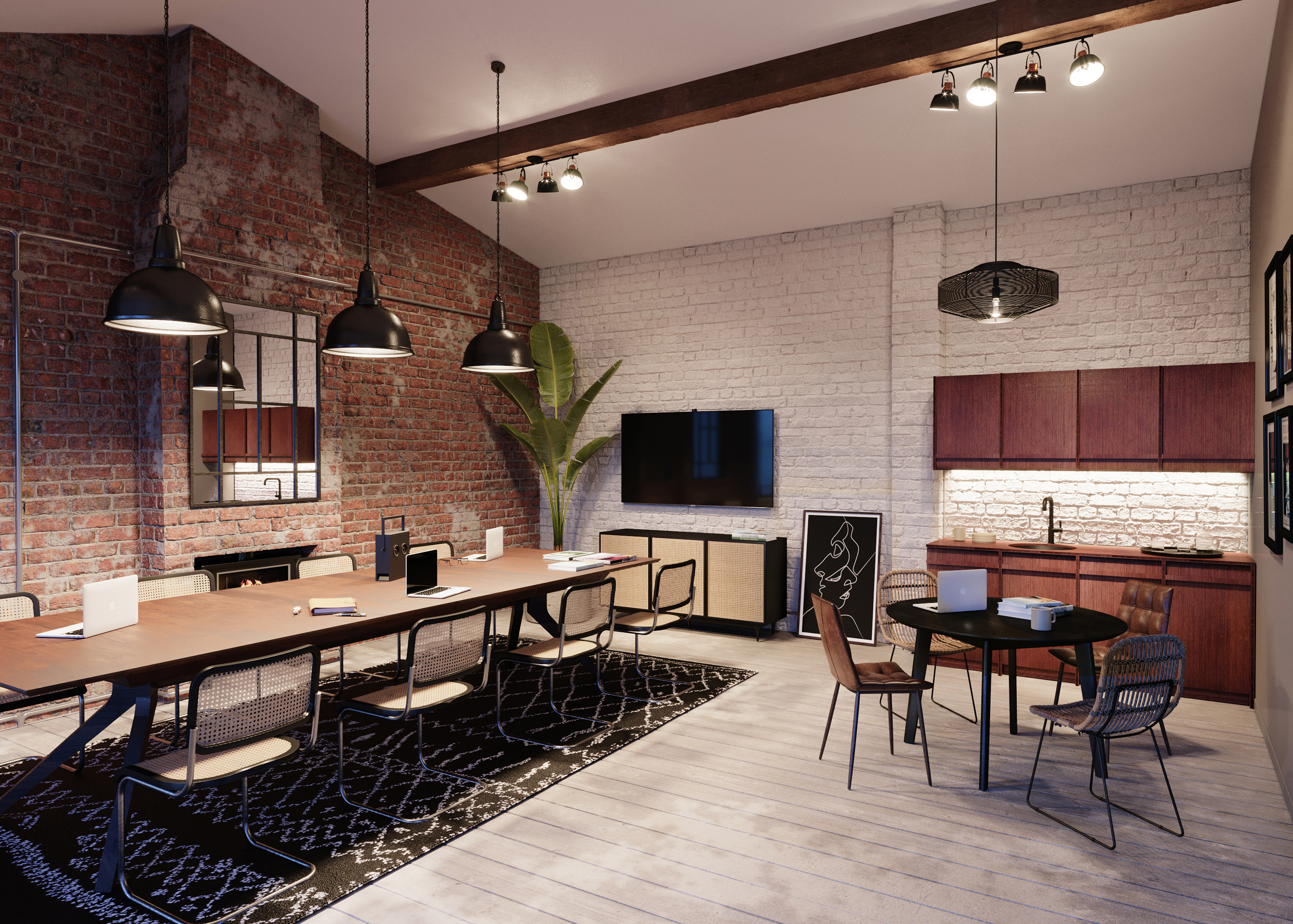 Whitepaper - Lonsdale road 3d commercial rendering in London