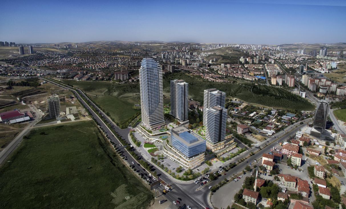 3d skyscraper  visualization