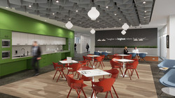Aecom interior designing workplace/office space planning 3d visualisation project.